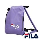 FILA 三角立體單肩包-薰衣紫