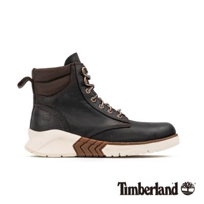 Timberland 男款地球英雄深褐色皮革運動靴|A286R