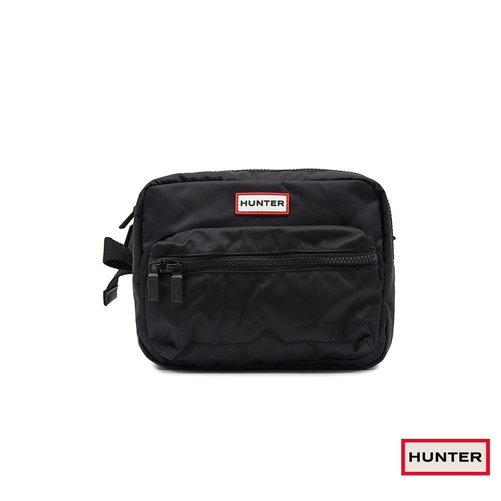 HUNTER - 尼龍方形腰包 - 黑