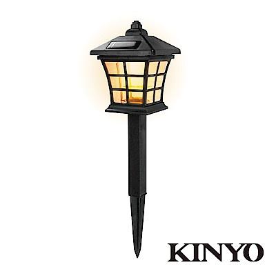 KINYO 日式太陽能LED庭園燈GL6023