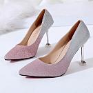 KEITH-WILL時尚鞋館 (現貨) 韓典雅小細跟鞋-粉色