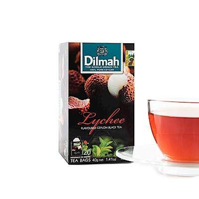 Dilmah帝瑪 荔枝紅茶(2gx20入)