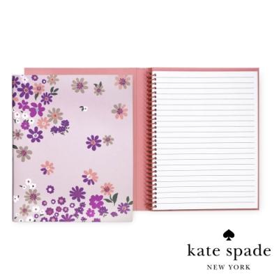 Kate Spade 落英繽紛隱藏式線圈筆記本 Pacific Petals