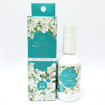 正和製藥 小花防蚊液 茉莉香氣(50ml/瓶)-含敵避(DEET)乙類成藥