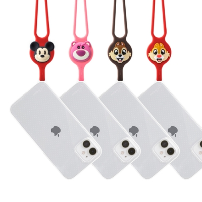 BONE-頸掛 iPhone 12系列 透明機殼 原創&迪士尼米奇/熊抱哥/奇奇蒂蒂