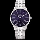 奧林比亞之星 Olympia Star 優雅弧線腕錶-藍  58087MS