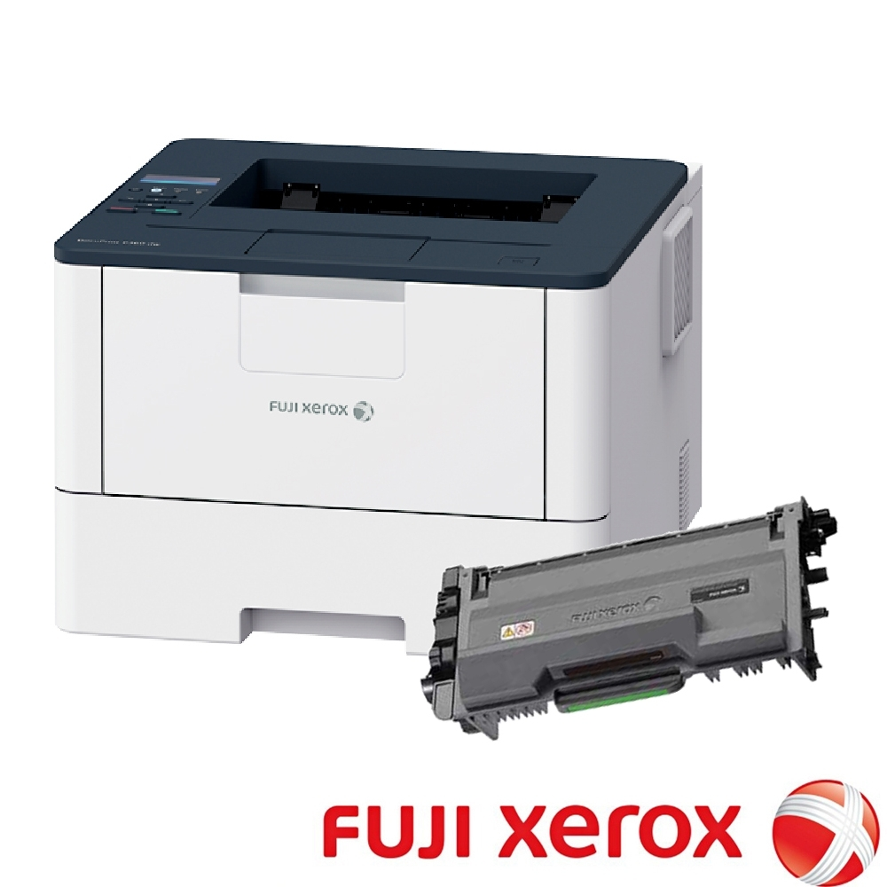 FujiXerox DP P375dw A4黑白雷射印表機+CT203109高容量碳粉匣超值組合