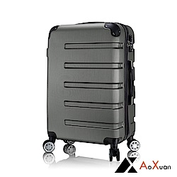AoXuan 24吋行李箱 ABS硬殼旅行箱 風華再現(灰色)