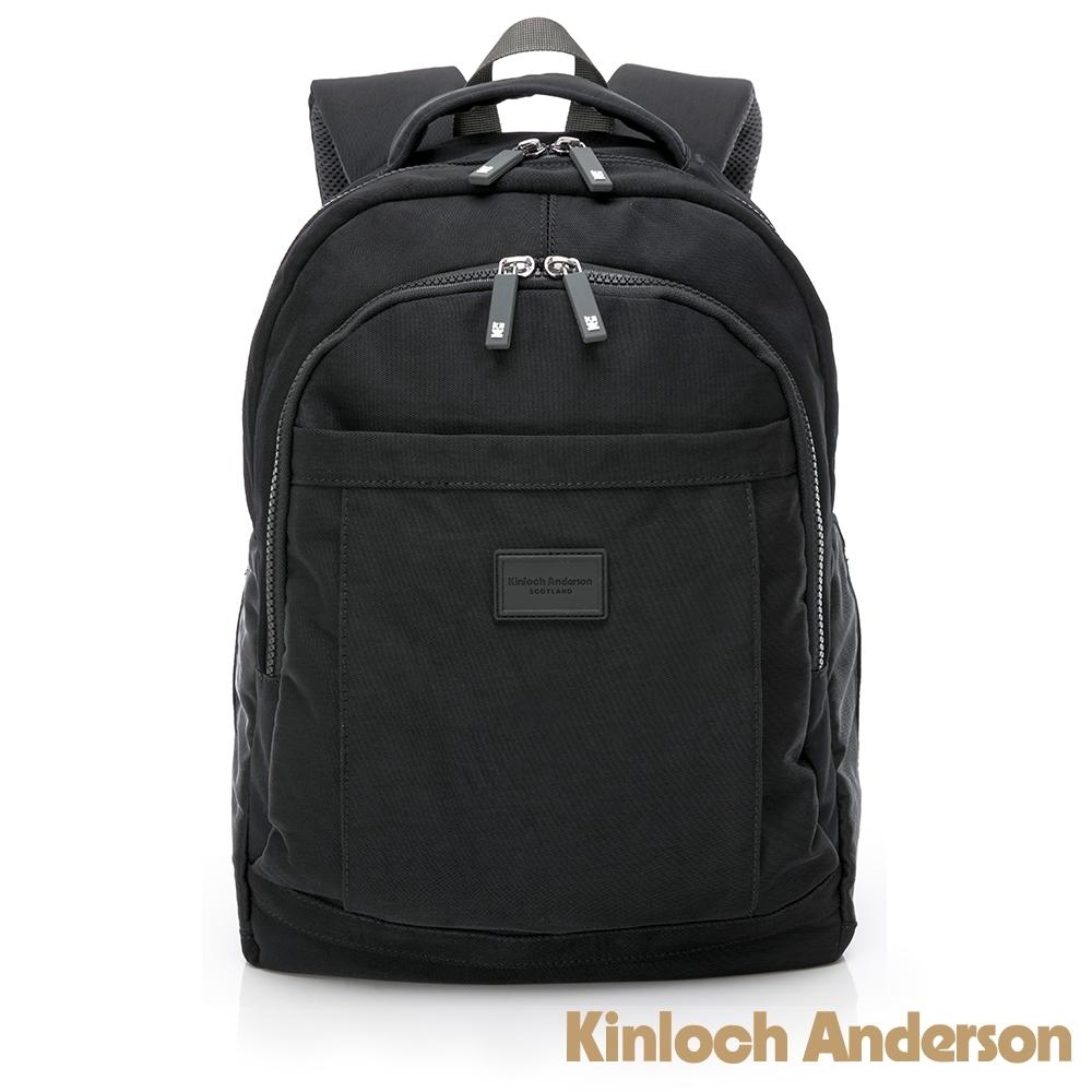 【金安德森】輕甜旅程  中性簡約後背包-黑色