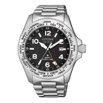 CITIZEN 星辰PROMASTER限量光動能潛水腕錶-銀42mm(BJ7100-82E)