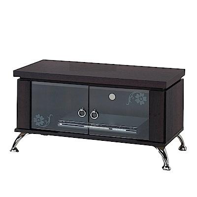 綠活居 比德2.7尺二門電視櫃/視聽櫃(二色可選)-82x43x44cm-免組