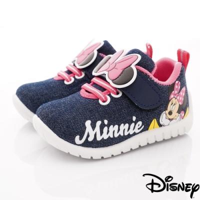 迪士尼童鞋 米妮牛仔休閒鞋款 ON19807藍(中小童段)