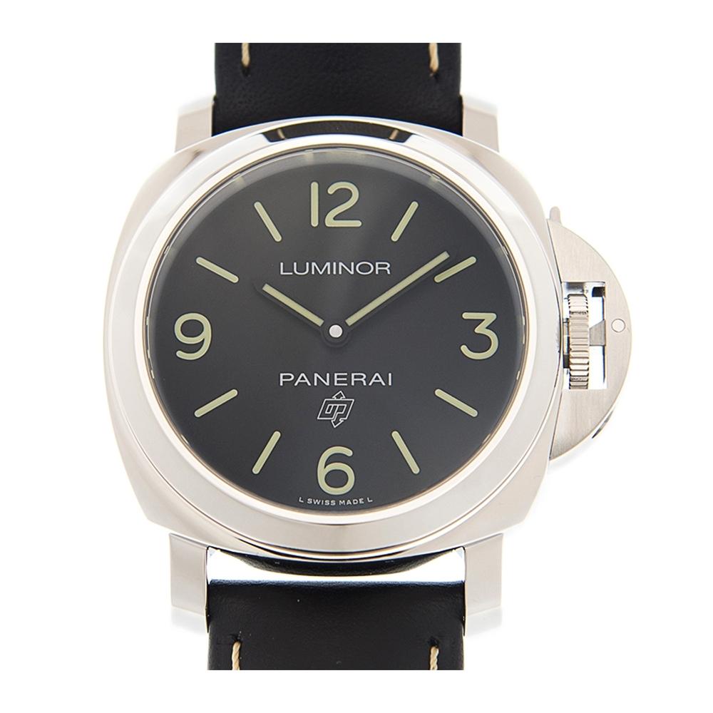 PANERAI 沛納海LUMINOR 手上鏈皮帶腕錶(PAM00773)x44mm