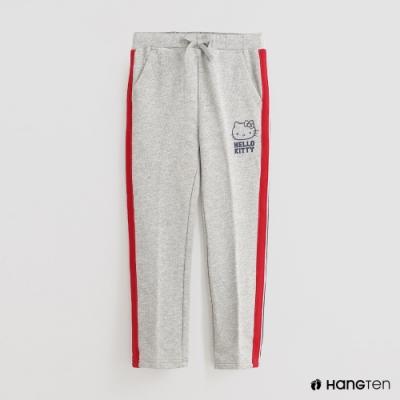 Hang Ten - 童裝 - Sanrio-可愛圖樣配色線條休閒長褲 - 灰