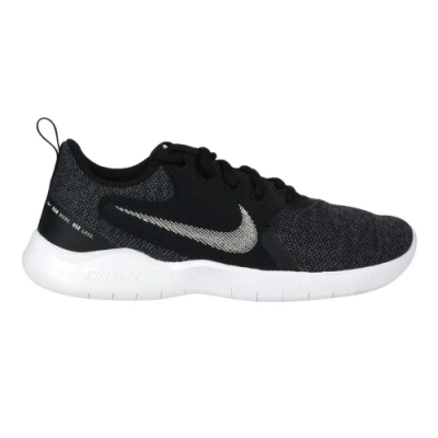 NIKE WMNS FLEX EXPERIENCE RN 10 女休閒慢跑鞋 CI9964002 黑白灰