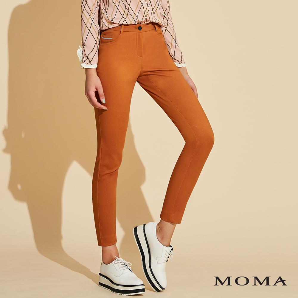 (網路獨賣)MOMA 修身長褲_3色