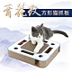 寵愛有家-大方型青花紋貓咪瓦楞多功能貓抓板(貓咪玩具) product thumbnail 1