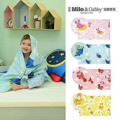 Milo&Gabby動物好朋友超透涼LINEN空氣毯盛夏海洋限量版(4款可選)