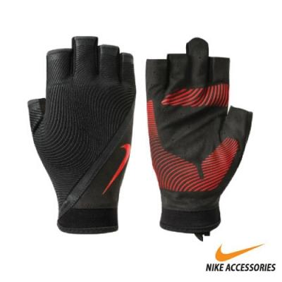 NIKE 男用動態訓練手套 黑紅 NLGB6053