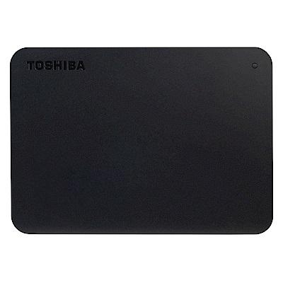 TOSHIBA A3 4TB 2.5吋行動硬碟 黑靚潮III  Canvio Basics