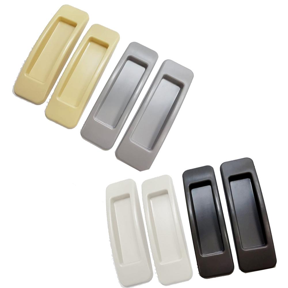 IE006 一組2入 門窗把手 免打孔 塑膠紗門把手 無痕免釘 粘貼式輔助小拉手