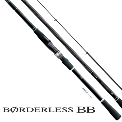 【SHIMANO】BORDERLESS BB 380M-T 磯釣竿 (24544)