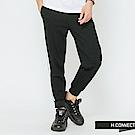 H:CONNECT 韓國品牌 男裝-撞色滾邊運動束口褲-黑