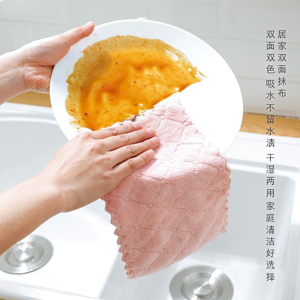 Baby童衣 獨立包裝雙色雙面不沾油吸水洗碗布 88322