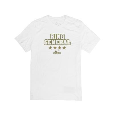 Nike T恤 Boxing Ring General T 男 運動休閒 吸濕排汗 DRI-FIT 圓領 白 金 561416100BXRG
