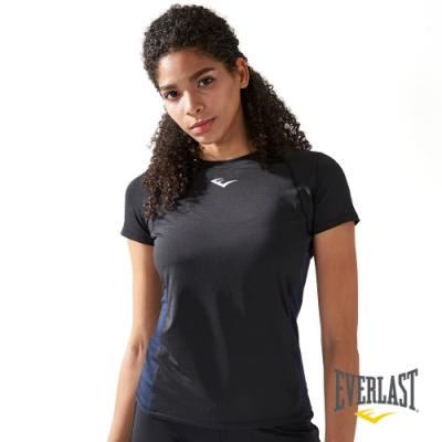 【EVERLAST】女款吸濕排汗T-黑色