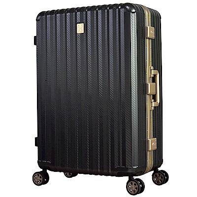 北歐 HAUGAS T6809-70-29吋 輕量行李箱 碳纖黑
