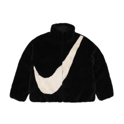 Nike 女 AS W NSW JKT FAUX FUR 保暖刷毛外套