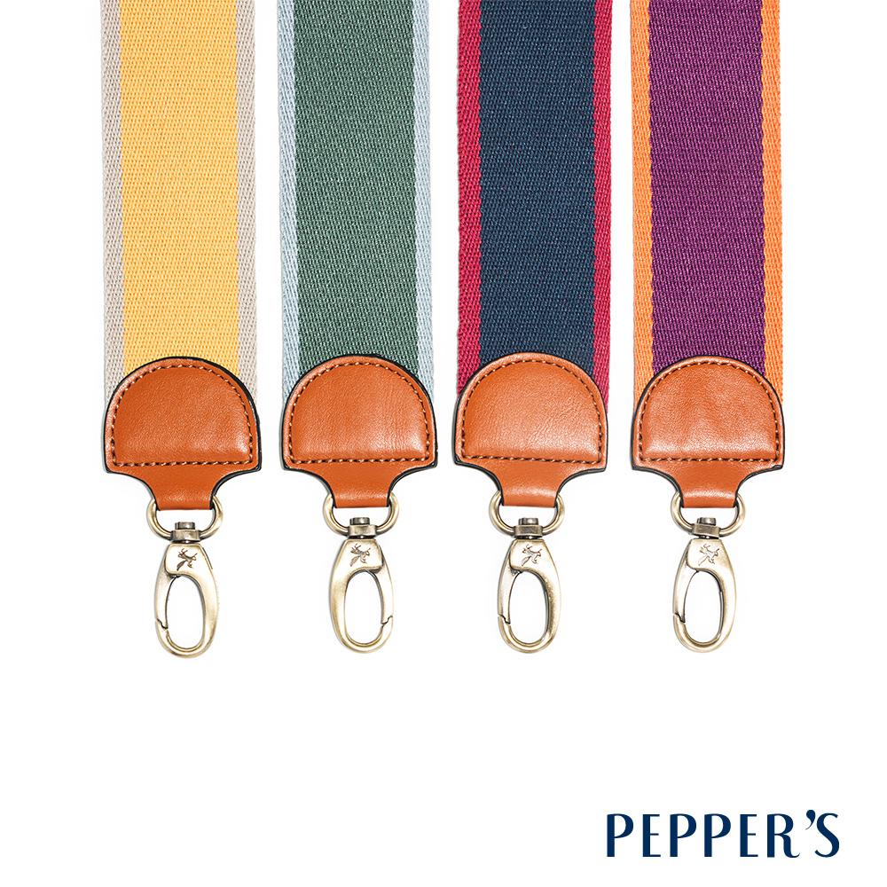PEPPER`S 撞色編織斜揹帶 - 4色