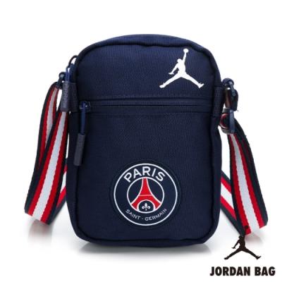NIKE 斜背包 Festival Bag  巴黎聖日耳 喬丹 飛人 側背包 小包 藍 JD2123008GS-001