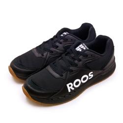 KangaROOS 經典電繡LOGO復古慢跑鞋 紅標系列 黑白 91060