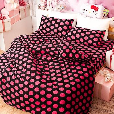 戀家小舖 / 單人床包兩用毯組  個性尤物  頂級搖粒絨  台灣製