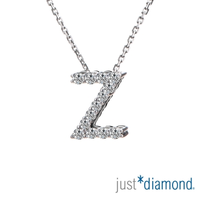 Just Diamond Love Words系列18K金鑽石墜子-Z