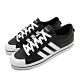 adidas 休閒鞋 Bravada 滑板鞋 男鞋 愛迪達 皮革鞋面 低筒 穿搭推薦 黑 白 FW2888 product thumbnail 1