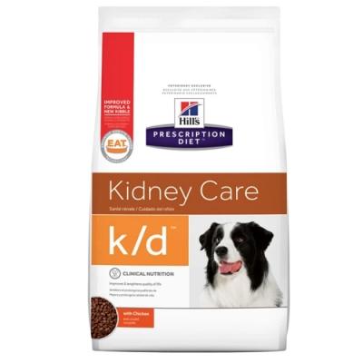 Hills 希爾思 腎臟護理 k/d 犬用處方乾糧(8621)8.5磅 X 1包