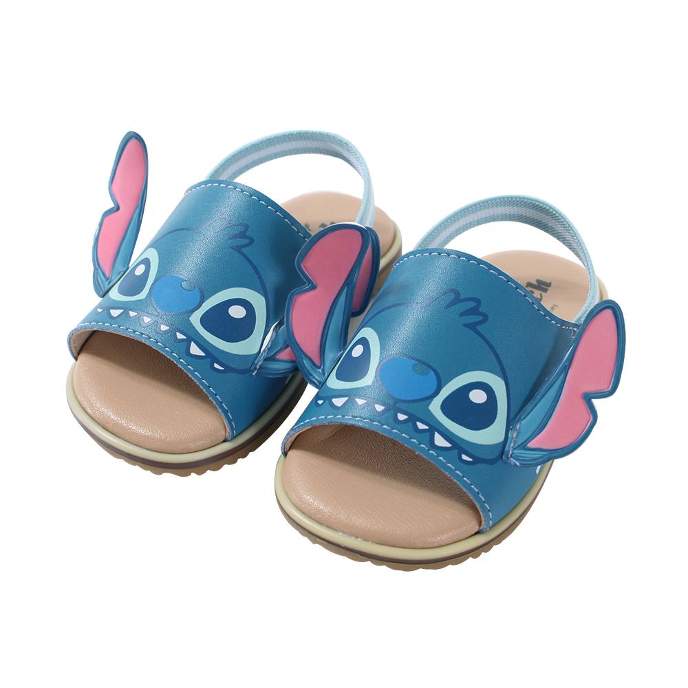 魔法Baby迪士尼史迪奇手工寶寶涼鞋 sk0785