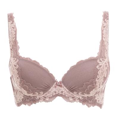 黛安芬-美型系列質感無痕 B-C罩杯內衣 透膚粉