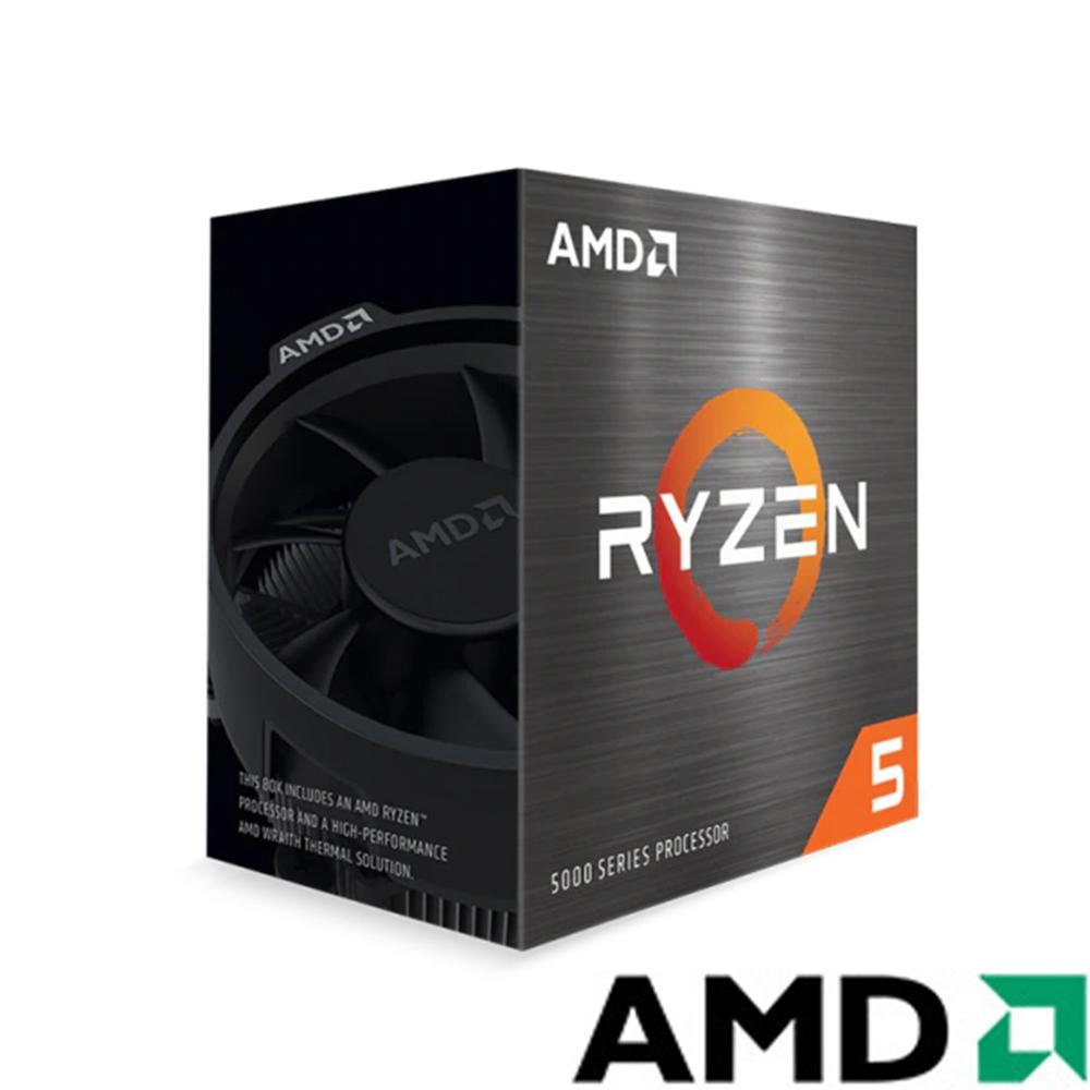 AMD Ryzen 5-5600G 3.9GHz 6核心 中央處理器(內附風扇)