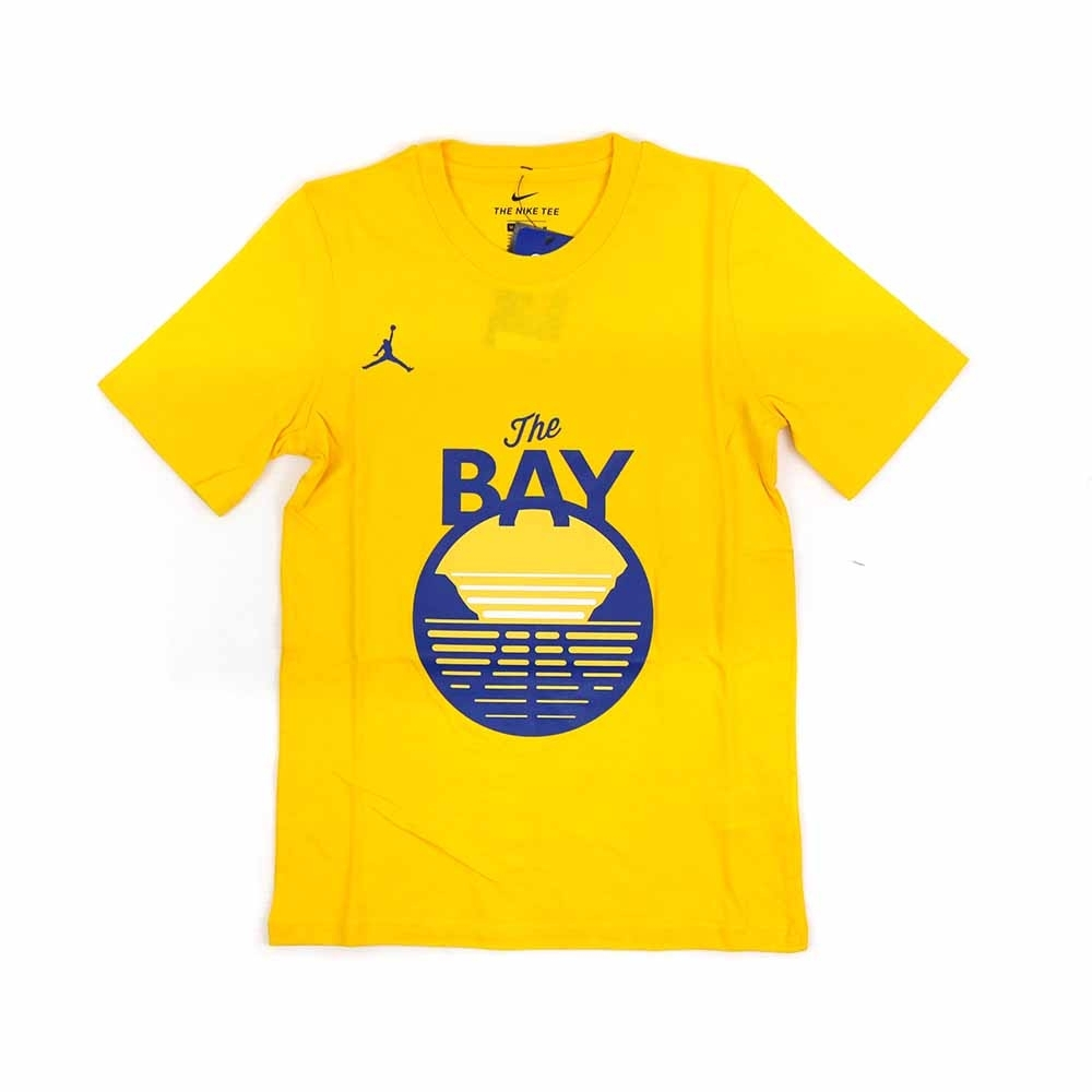 NIKE NBA Statement Edition 青少年 短袖T恤 勇士隊