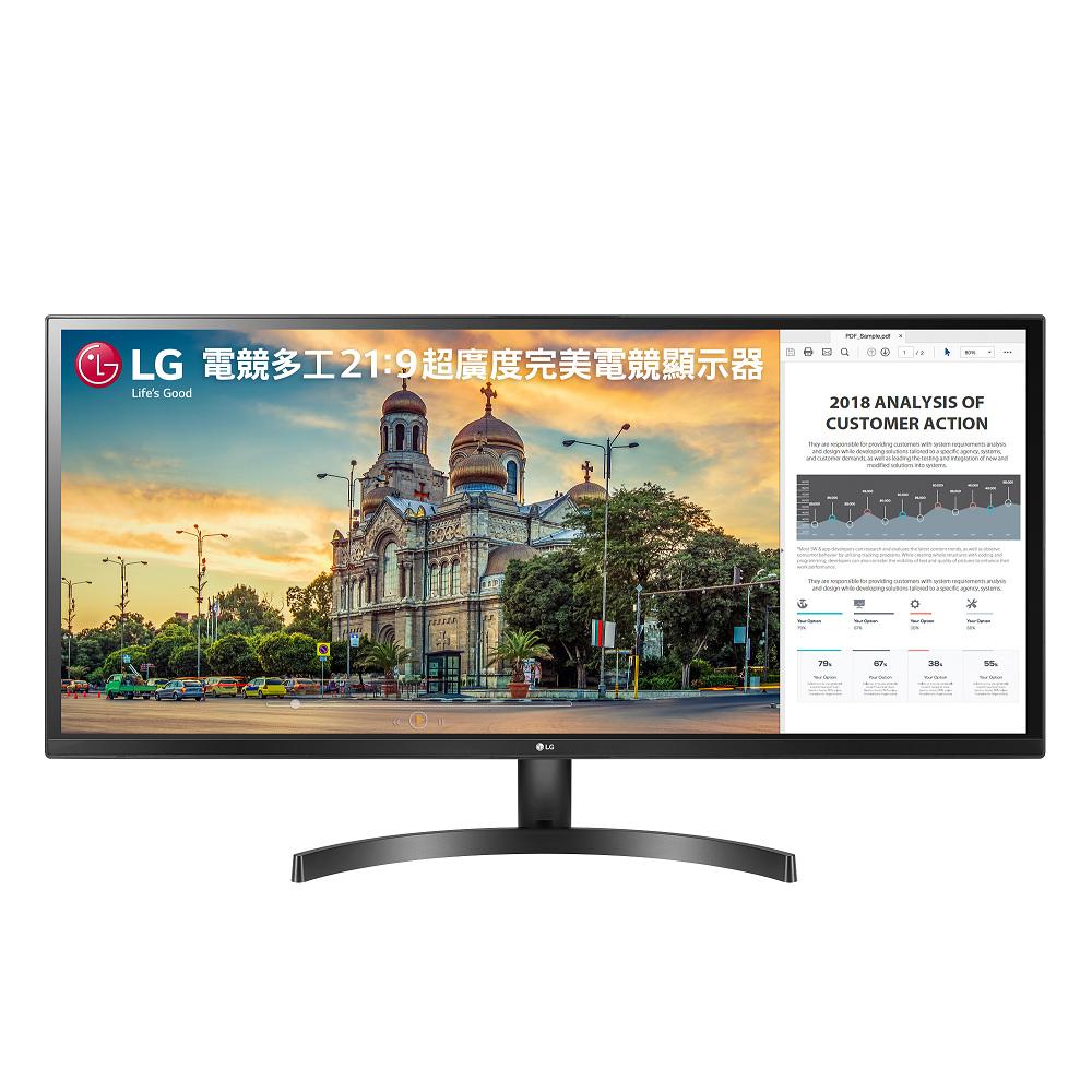 LG樂金 34型 21:9 AH-IPS電競螢幕 34WK500-P