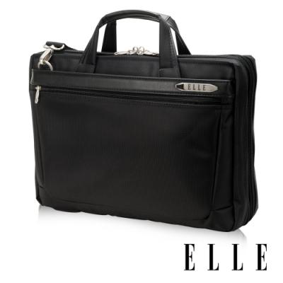 【限時】ELLE HOMME 紳士皮革13-15吋公事包-任選$1890