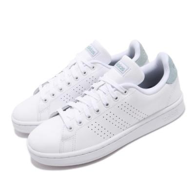 adidas 休閒鞋 Advantage 低筒 皮革 女鞋