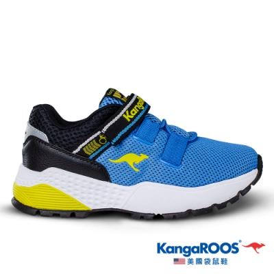 KangaROOS 美國袋鼠鞋 童 ROADSTER 腳踏車鞋(藍-KK01266)