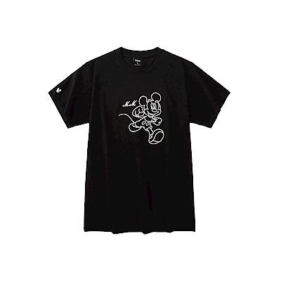 CACO-米奇款電繡短T(兩色)-男【SDI008】