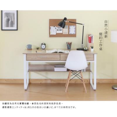 【RICHOME】杜克雙抽工作桌B-R-DE281 140 x 60 x 73 CM