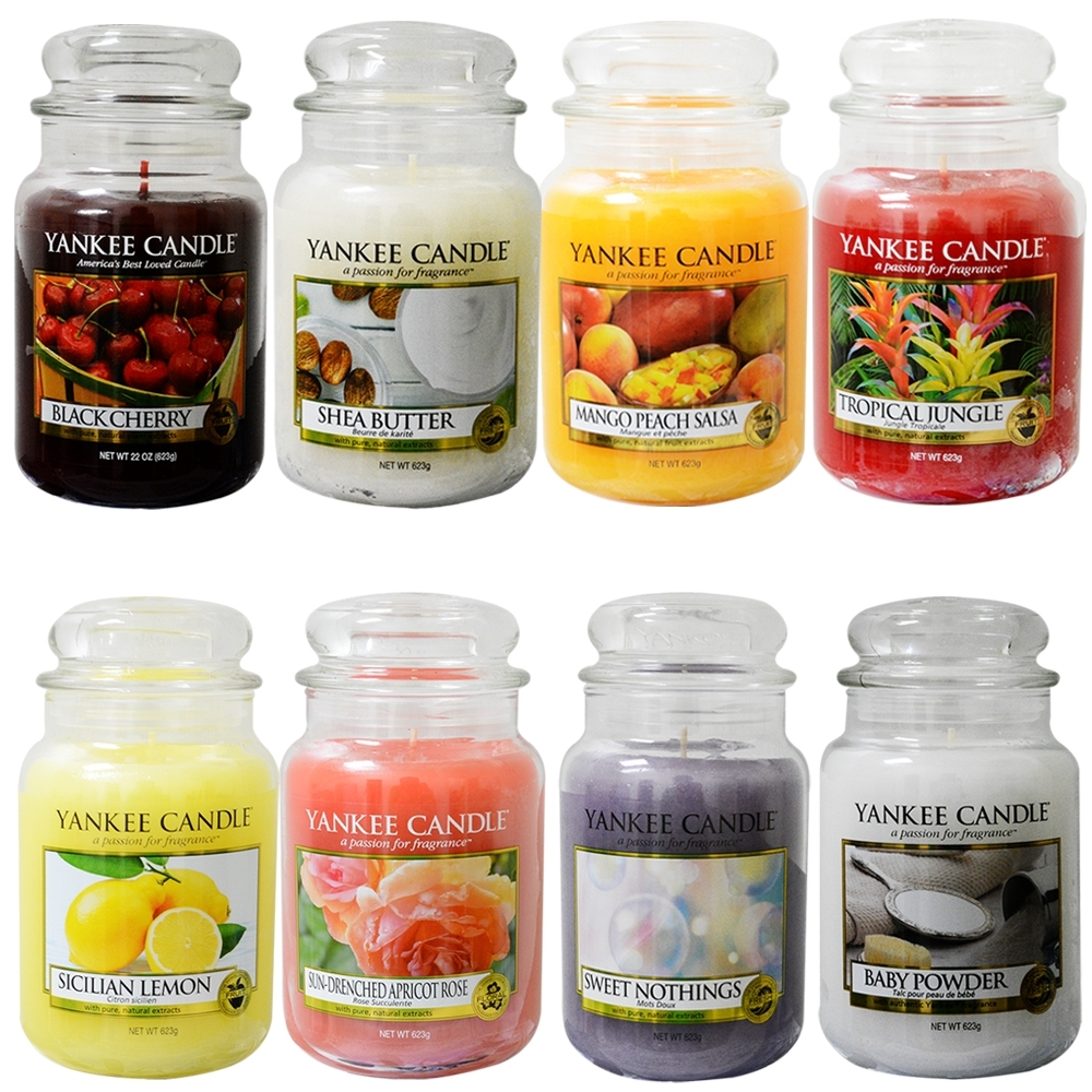 YANKEE CANDLE 香氛蠟燭 623g多款任選 product image 1